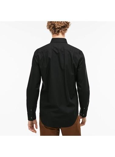 Lacoste Uzun Kollu Gömlek Siyah